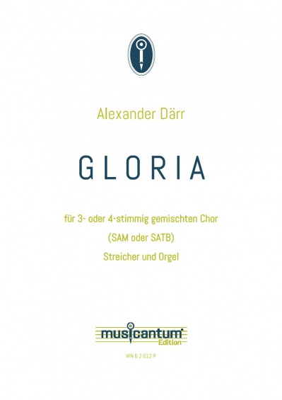 GLORIA - Partitur#heft